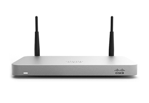 Cisco Meraki MX64W Cloud Managed Security Appliance with 802.11ac